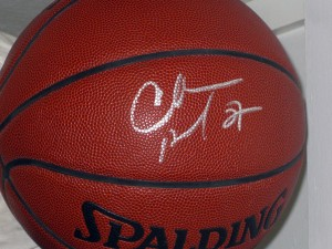 Charles Barkley autographed basketball