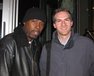 GZA and Matt Raymond