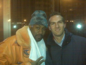 Ghostface Killah and Matt Raymond