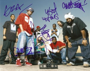 Wu-Tang Clan autographed 8x10