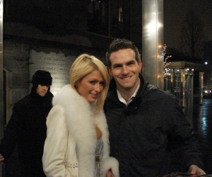 Paris Hilton and Matt Raymond