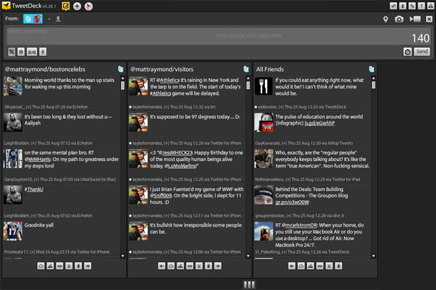 how to follow all at once on tweetdeck