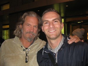 Jeff Bridges and Matt Raymond