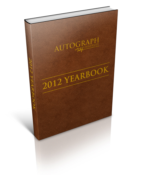2012 Autograph University Yearbook