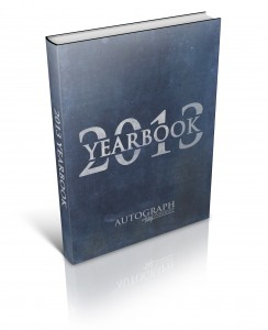 2013 Autograph University Yearbook
