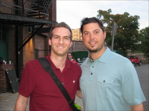 Matt Raymond and Josh Beckett